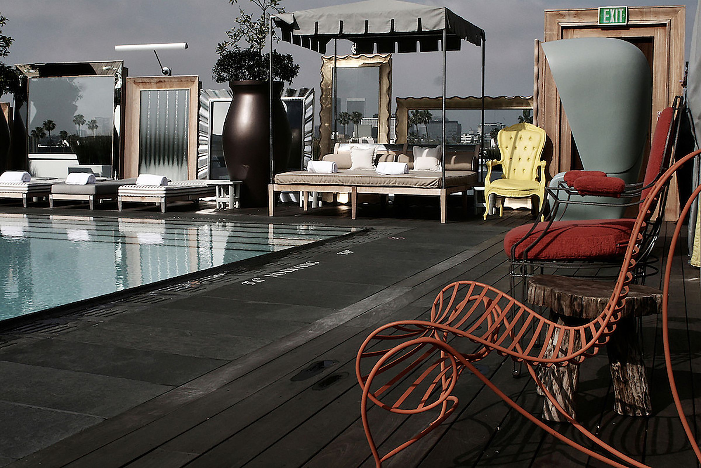 SLS Hotel (Beverly Hills) by Philippe Starck